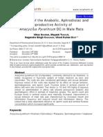 Anacyclus Pyrethrum