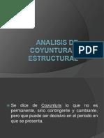 Analisis de Coyuntura y Estructural y Matriz Insumo-producto