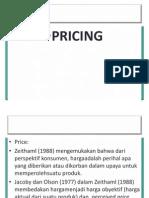 Marketing Management Kul 5 Pricing