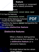 Phonology.2 Features