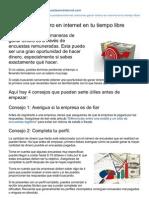 Comoganardineroporencuestaseninternet.com-Como Ganar Dinero en Internet en Tu Tiempo Libre