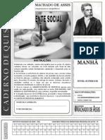 INST MACHADODE ASSIS 81 Prova de Assistente Social