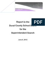 Broner Consulting Superintendent Search Report