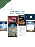 Sales Force Tablet - Produto Mínimo Viável