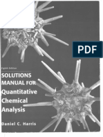 Solutions Manual for Quantitative Chemical Analysis[1]