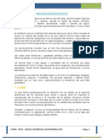 Analisis Arquitectonico Modifica II Final