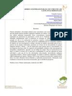 Metodología y Construcción de Teoría Educativa Ambiental (Mesa 6)
