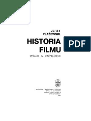 Jerzy Płażewski Historia Filmu