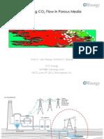 Modeling CO2 Flow in Porous Media