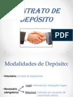 CONTRATO DE DEPÓSITO - SLIDE
