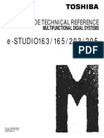 Toshiba E-Studio 163-165-203 Code Technical Reference