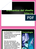 Elementos del diseño interno