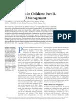 Gastroenteritis in Children Part II. Prevention and Management 2012