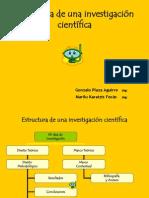 apoyo. estructura de una investigación