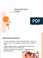 Cesarean Section (C-section)
