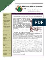 KTA Newsletter Vol. 1 Issue 1