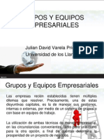 Equipos y Grupos Empresariales