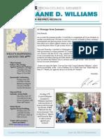 June 10th Newsletter
