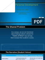 Identification of a Shared Problem