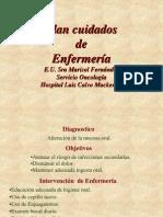 DDddEE Pacientes Oncológicos Cuidados de Enfermería