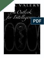 Paul Valery -- Intelligence