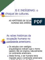 Hipóteses sobre a ocupação humana do continente americano