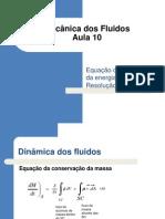 Aula 10 - 2011-2 Equação da conservação da energia e resolução de exercicios - Cópia