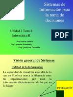 Tema1.Sistema de Informacion