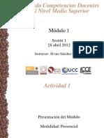 Presentación M1S01