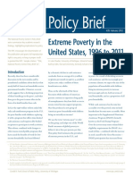 Extreme Poverty in the United States, 1996 to 2011
