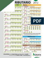 Calendario Tributario 2012 DIAN