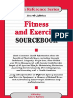 Fitness and Exercise Sourcebook 2011
