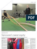 Studeo55 - Vancouver Sun - Vancouver's Sweat Equity