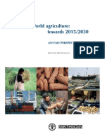 World Agriculture Towards 2015-2030