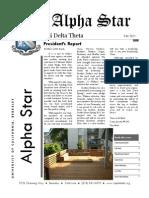 Phi Delta Theta - Alpha Star Fall 2011