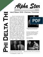 Phi Delta Theta - Alpha Star Spring 2011