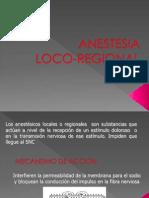 Anestesia Loco Regional