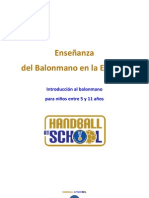 Manual Handball at School
