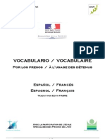 Vocabulario Frances