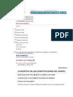 Bioetica Constituciones Del Mundo