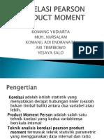 Korelasi Product Moment 1