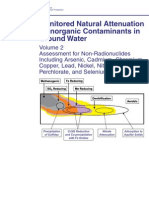 Monitored Natural Attenuation of Inorganic Contaminants in Groundwater - Vol 2