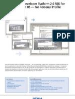 DS Series 80 PersonalProfile SDK