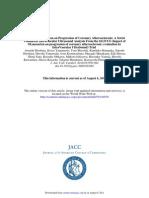Impact of Olmesartan on Progression of Coronary Atherosclerosis