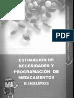 Estimacion de Necesidades y Programacion de Insumos Medicos