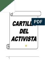 Cartilla Del Activista Politico