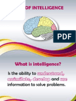 Tipes of Intelligence