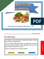 Album de Los Alimentos Rnc