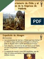 Almagro y Valdivia. Descubrimiento y Conquista.
