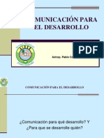 Comunicacion Para El Desarrollo Local - PCS